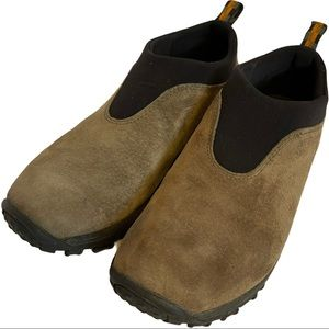 Merrell Suede Slip On Shoes Size 10